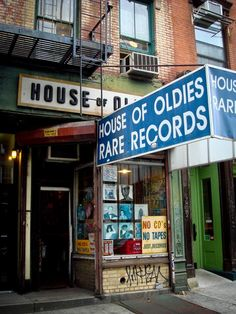 - House of Oldies Record Store
