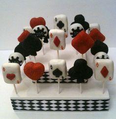 Poker cake pops cake pops poker cake, cake pops ve casino cakes. Casino Night Party, Casino Theme Parties, Party Themes, Vegas Party, Party Ideas, Cake Pops, Poker Cake, Poker Party, Casino Decorations