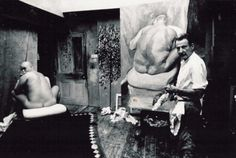 Art in the Studio: On Sitting for a Portrait.  Lucian Freud.