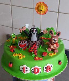 Der kleine Maulwurf Kinderkuchen, Mole cake