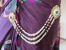 saree waist belts - Google Search Saree Belt, Saree With Belt, Waist Belts, Bollywood Jewelry, Indian Jewelry, Crochet Necklace, Crafting, Jewellery, Chain