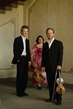 The Grieg Trio who, in 1991, were the first winners of the Parkhouse Award.