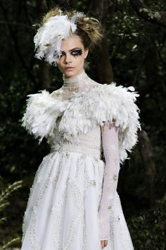 Cara Delevingne for Chanel Spring Couture 2013