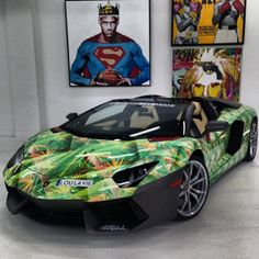 Nike LeBron 11 'King's Pride' Inspired Lamborghini Aventador - Hooped Up