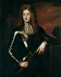 James FitzJames (1670 - 1734). Son of King James II and Arabella Churchill. He married Honora de Burke and had one son. After her death he married Anne Bulkeley and had ten children.