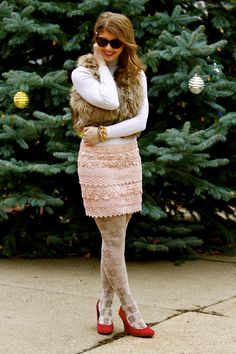 Tiered lace skirt #americaneagle