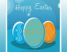 """Check out new work on my @Behance portfolio: """"Happy Easter Wishes - Card"""" http://be.net/gallery/51497031/Happy-Easter-Wishes-Card"""
