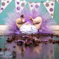And another one bites the dust.. One of my favorite cake smash photos
