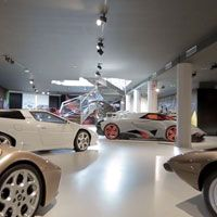 Lamborghini Museum: discover the address, ticket prices, and hours and days of operation of the Lamborghini Museum in Sant