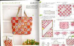 Patchwork Basics libro de arte japonés por pomadour24 en Etsy