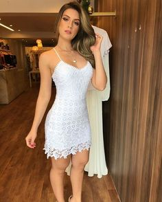 Look com vestido, cute dresses, casual dresses, sexy dresses, summer dresse Sexy Outfits, Sexy Dresses, Cute Dresses, Short Dresses, Girl Outfits, Fashion Dresses, Beautiful Dresses, Casual Dresses, Summer Dresses