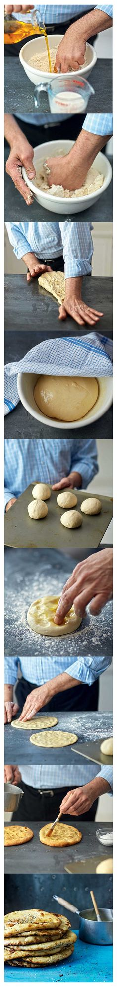 How to make naan breads