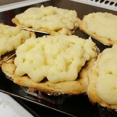 Homemade mince beef and potato pie but without pastry..instead used pizza base and sauce is utterly divine and full of flavour x looking forward to these -Clares CakesnBakes