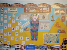 Ancient Egypt Mummy Display, classroom display, class display, Egypt, mummy, history, Hieroglyphics, Early Years (EYFS), KS1 & KS2 Primary Resources