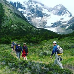 Trekking over the diverse terrain of #Patagonia