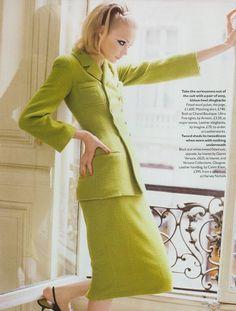 """Capital Style"", Vogue UK, December 1995Photographer: Pamela HansonModel: Jodie Kidd"