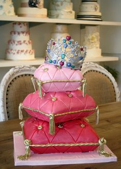 Pillow cake   I think this would be a great Sweet 16 cake
