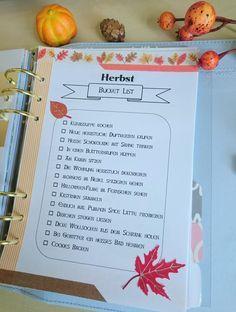 Hier kommt mein erster Herbstbeitrag für euch! Wie ihr wisst, mag ich diese Jahreszeit ja ziemlich gerne. Um nichts zu versäumen, habe ich eine Bucket List für den Herbst erstellt. Eine Liste mit v…