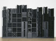 Louise Nevelson. Reflexions of a waterfall Centre Pompidou Paris