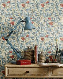 Arbutus Woad/Russet från William Morris & Co