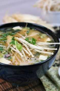 Miso Soup - My ultimate quick and easy meal!