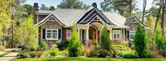 charming! front house exterior by echelon custom homes