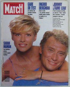 Johnny Hallyday Revue Paris Match N° 2047 Aout 1988