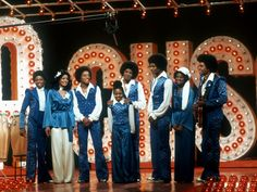 The entire clan exhibited musical talents. The Jacksons perform onstage in their variety TV show in November 1978 in Los Angeles. The quintet: Randy, left, Marlon, Jackie, Michael and Tito take the stage with their sisters, Latoya, left, Janet and Rebbie.
