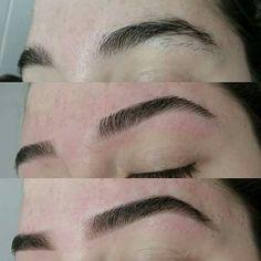 Muito prazeroso trabalhar com sobrancelhas Eyebrows Goals, Eyebrows On Fleek, Perfect Eyebrows, Brow Threading, Brow Tinting, Eyebrow Makeup Tips, Hair Makeup, Natural Glowy Makeup, Eyebrow Growth