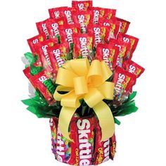 Candy bouquet Large by SensualBaskets on Etsy