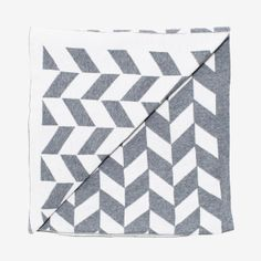Kate & Kate Jagger Baby Blanket - light grey marle/snow white – Home Apparel Grey And White, Snow White, Cotton Blankets, Swaddle Blanket, White Houses, Home And Living, Great Gifts, Minimalist, Textiles