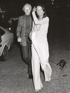 Andy Warhol & Lee Radziwill attending the #montaukvillageassociation benefit 1973 ! #MVA #greeneryscenery party coming up this August 16th!