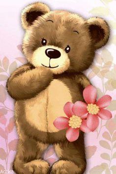 Cute Teddy Bear Pics, Teddy Bear Quotes, Teddy Bear Images, Teddy Bear Pictures, Cute Bears, Teddy Bear Drawing, Teddy Bear Cartoon, Cute Bear Drawings, Teddy Bear Toys