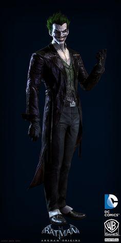 Arte digital de Batman Arkham Origins, por JocelynZeller #Game #Illustration #DigitalArt