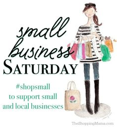 Small Business Saturday Deals #shopsmall | The Shopping Mama