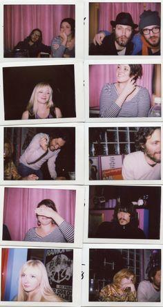 With Nicole, Vincent Gallo,  Linda Ramone & J. D. King Dice Night II