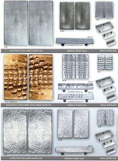 Poignées de tirage Galuchat-Alligator-Autruche - Poignées & DécorationPoignées & Décoration
