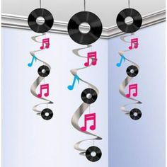 Hangdecoratie 3 Stuks Disco Slingers