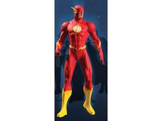 The New 52 Series 01: Justice League The Flash Action Figure - DC Comics The New 52 Figures