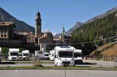 Area Attrezzata Camper Revettaz di Cogne #giropercampeggi #campeggi #camper #tenda