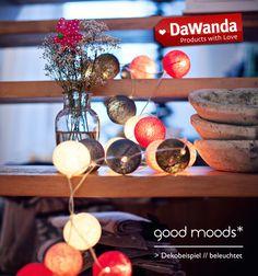 Lichterketten - small moods* 20er lichterkette - custom - ein Designerstück von good-moods bei DaWanda