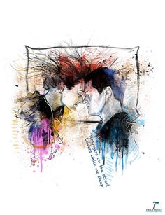"Track 3. The Smashing Pumpkins ""Perfect"" #drawing #illustration #digital #mixedmedia #billycorgan #photoshop #watercolor #girls #music #beauty #portrait #eyes #love #perfect #lovesongs #smashingpumpkins The Smashing Pumpkins"