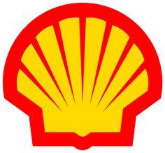 1 = het logo bestaat uit een rood met geel gekleurde schelp 2 = het bedrijf heet shell 3 = ik vind het een leuk bedacht logo.....