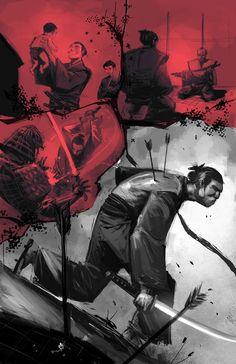 Samurai By  Crazymic