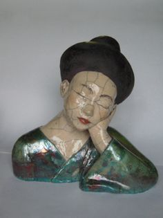 "Art-Monie: Mélanie Bourget ""ceramist sculptor"""