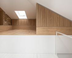 *다락방 리모델링 Con Form Architects opens up loft with a glass and steel dormer Loft Dormer, Direct Wood Flooring, Steel Cladding, Architects London, Wood Pergola, Pergola Ideas, Dormer Windows, Residential Architect, Bright Homes