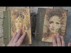 Ring Bound Journal - Flip Through - Junk Journal - YouTube Give It To Me, Ring Binder, All Video, Junk Journal, Scrapbooking
