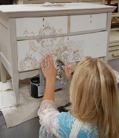 HappyModern.RU | Декупаж мебели (39 фото): подарите старым вещам вторую жизнь | http://happymodern.ru