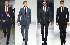 traje passeio completo masculino desfile