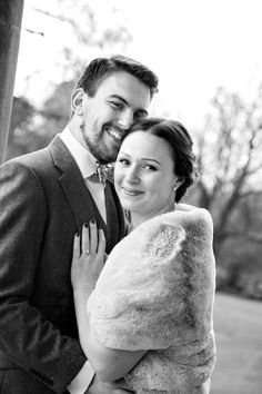 Bridal fur jacket by Blanche in the Brambles. Natalie is wearing the Rose Royal faux fur jacket in blush pink. Photography by Jane Wood Photography The Brambles, Woods Photography, Faux Fur Jacket, Blush Pink, Brides, Cover Up, Couple Photos, Rose, How To Wear
